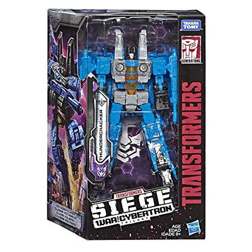 Transformers E4490ES0 TRA GEN WFC Voyager THUNDERCRAKER, Multicolour