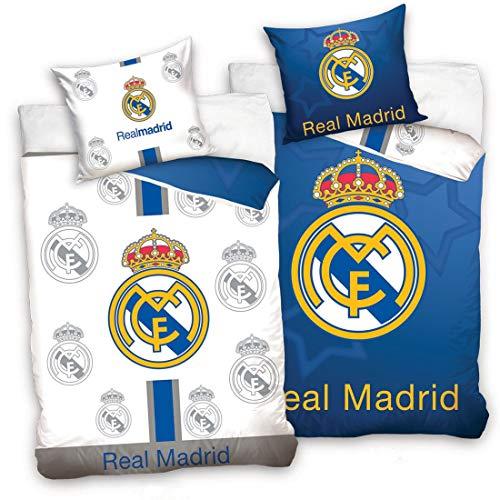Real Madrid CF - Juego Funda nórdica Funda Almohada