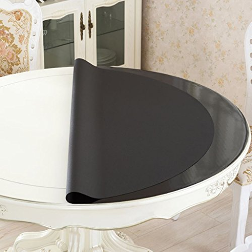 *linge de cuisine Nappe mate, Nappe ronde imperméable à l'eau Tapis anti-chocolat anti-chaleur étanche à l'huile ( taille : Round/100cm )