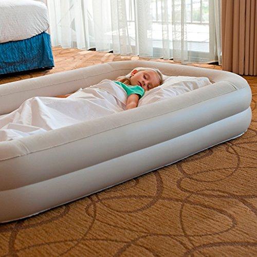 Intex 12-66810NP Kidz Travel Bed Set, phthalates-free mit Handpumpe, 107 x 168 x 25 cm - 2