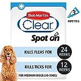 Best Dog Fleas - Bob Martin Flea Clear Fipronil Spot on 3 Review