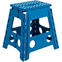 Arregui TB-039-A - Taburete plegable 29x22x39cm azul
