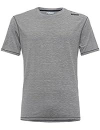 Freddy T-shirt en tissu technique melangé fiammato avec petit logo no-logo sur épaule