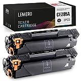 2 LEMERO Compatibile HP 85A CE285A Cartucce di Toner per HP Laserjet P1102W M1212NF MFP M1132 M1210 M1130 M1217NFW,Nero