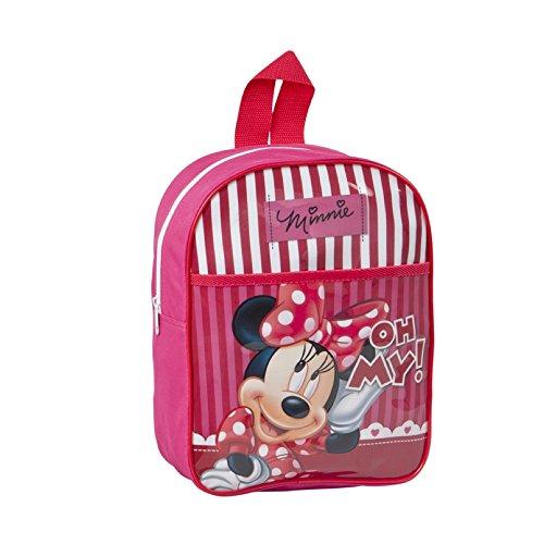 Disney - Sac a dos pour Enfant Minnie Mouse - 30x26x9 cm - Ecole et Loisirs