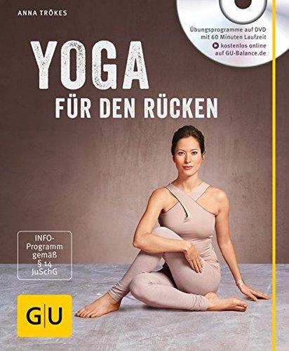 Yoga für den Rücken (mit DVD) (GU Multimedia) Buch-Cover