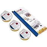 Eva Collection Fire-Blitz - Pasta Combustibile Sicura, 3x80g