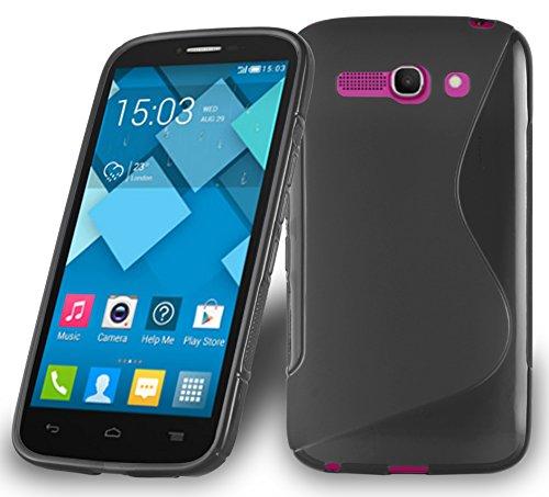Cadorabo - TPU S-line Style Silikon Hülle für Alcatel ONE Touch POP...