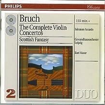 Bruch: The Complete Violin Concertos Accardo Masur (UK Import)