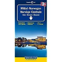 Carte routière : Norvège Centrale, II