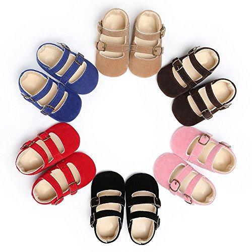 Krabbel Schuhe, FEITONG Baby Jungen Mädchen Soft Sole Schuhe Sneakers Schwarz