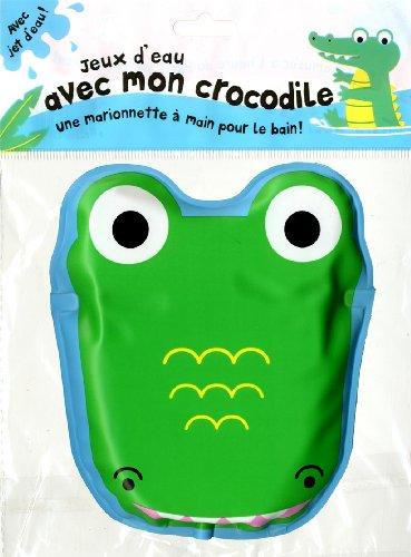 Jeux d'eau avec mon crocodile