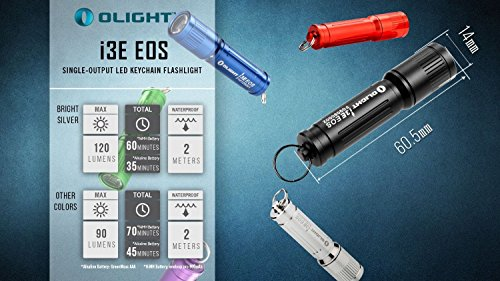 Olight® I3E EOS Mini Taschenlampe mit Schlüsselanhänger - 8