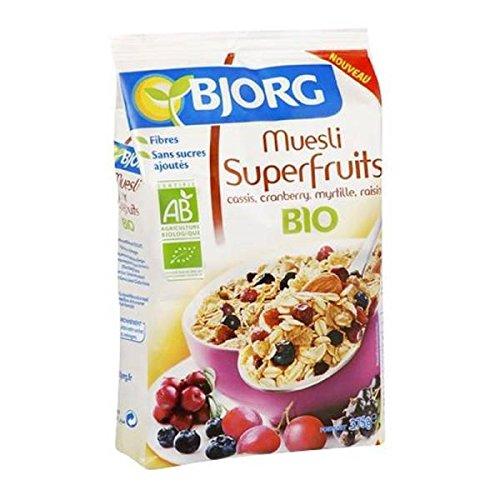 Bjorg - Muesli aux superfruits - 375g