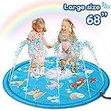 Sunshine smile wasserspielzeug Garten für Kinder,Splash Pad,Wasserspielzeug spielmatte,Splash...