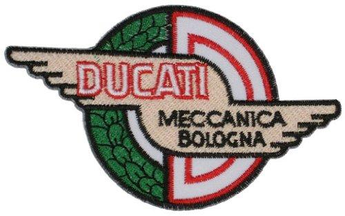 Aufnäher Aufbügler Patch Ducati Logo Biker Italien 8 cm / 12cm (Ducati Corse Patch)