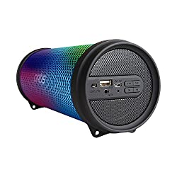Artis BT99 RGB Wireless Portable Dynamic LED Bluetooth Speaker With USB / FM / AUX IN / LED Lights