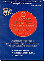 Webster's Third New International Dictionary of the English Language (1993-12-24)