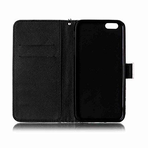 Owbb pétale coloré PU cuir Housse de protection coque pour iPhone 6 Plus / 6S Plus (5.5 pouces) étui cover case Color 03