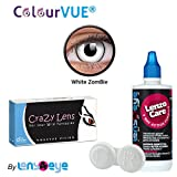 ColourVUE Crazy Lens White Zombie Color ...
