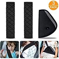 Seat Belt Pads, Car Belt Covers Seat Belt Cushion Padded Seat Straps Pad Car Comfort Pads for Baby Soft and comfortable 3PCS