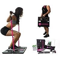 -BodyBoss 2.0 - tragbares Fitnessstudio für Zuhause mit extra Band-Paket