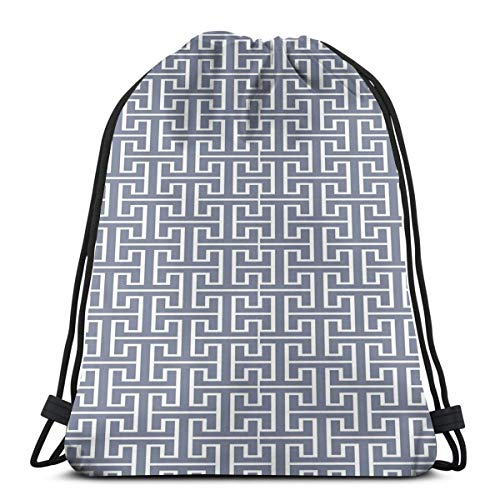 LLiopn Drawstring Sack Backpacks Bags,Vivid Colored Japanese Culture Inspired Floor Pattern Traditional Architecture,Adjustable.,5 Liter Capacity,Adjustable. -