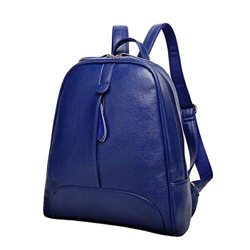 Umhängetasche Handtaschen Reise Rucksack Einfache Wilde College Wind Tasche Freizeit Mode Blue