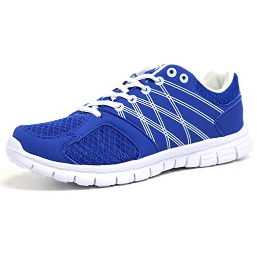 Mens Running Trainers Light Weight Shock Absorbing Jogging Gym Walking Fitness Sports...