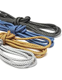 Generic dyhp-a10-code-5804-class-1-- Shoestrings color al azar color para cordones cordones Hoela redondo cuerda T zapatos 3m reflectante Flect Runner Deporte Zapatos Cuerda 3M–-dyhp-uk10–160819–3766