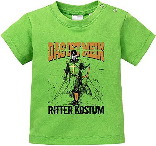 (EZYshirt Das ist miein Ritter Kostüm Bio Baumwolle Baby T-Shirt)