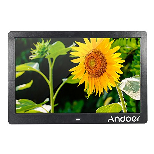 """Andoer® 13 """" TFT LCD Marco Digital de Foto Alta Resolución 1280 * 800 Máquina Publicidad Reproductor de MP3 MP4 Películas Despertador con Control Remoto"""