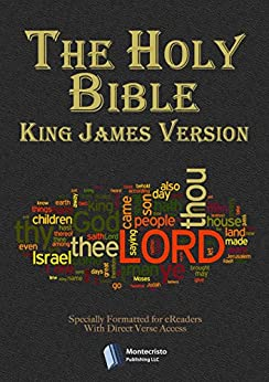 The Holy Bible - King James Version - (with Direct Verse Access) de [King James, Bíblia]