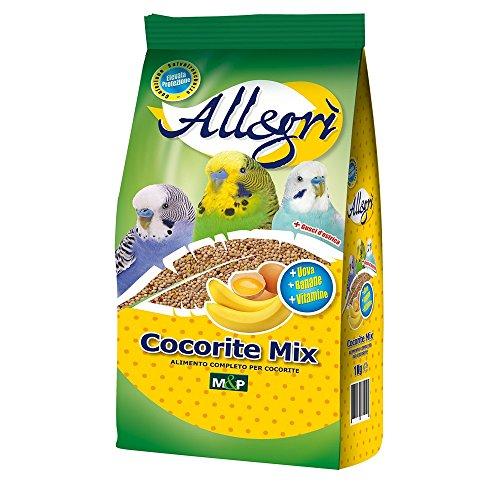 MIGNINI Mix per cocorite allegri 1kg - Alimenti uccelli