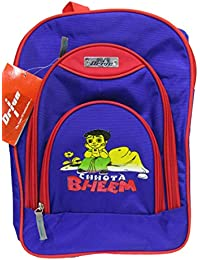 DRIVE Kids School Bag,Multi Colour With Chota Bheem Characters Backpack For Kids (Age: 3- 9 Years)