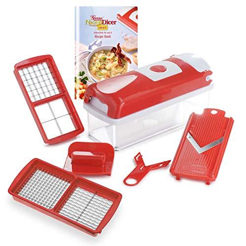 AMYZS-KK | 6 Stück | Food-Chopper | Multi-Cutter | Slicer | Schneiden | Gitter | Würfeln | Obst + Gemüse Mandoline | NEU -