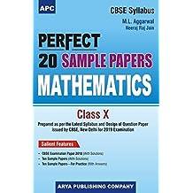 Perfect 20 Sample Papers Mathematics Class-X