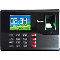 HFeng 2.8 Pulgadas TCP/IP / USB Realand Huella Digital biométrica Tarjeta de Tiempo Locker Asistencia máquina Finger Scanner 2000 Capacidad de Usuario para el hogar/Oficina