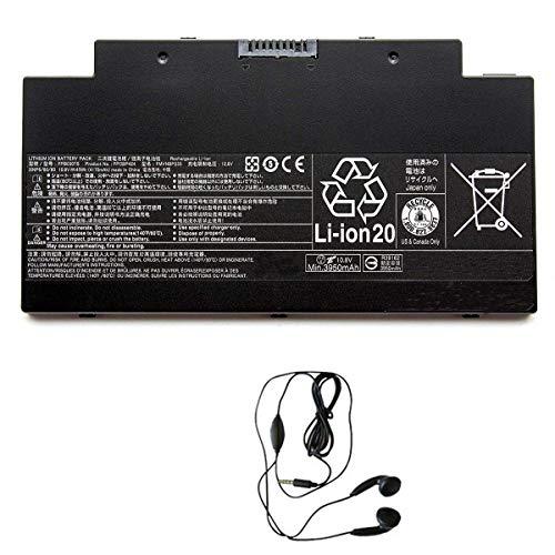 amsahr FPCBP424-03 Ersatz Batterie für FUJITSU Schwarz
