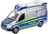 Dickie Toys 203716010 Police Van Polizeiauto mit Abnehmbaren Dach, 1:18, 34cm