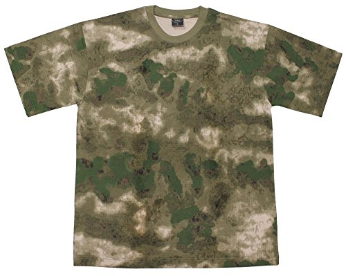 US T-Shirt, halbarm, HDT-camo FG, 170g/m² Größe: XL (Kurzarm-nackenband)