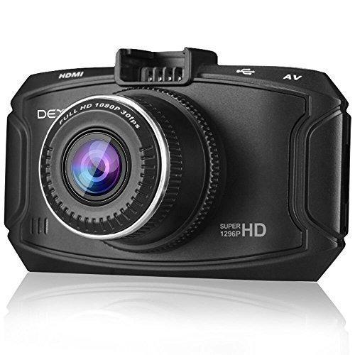 Dexors X7 Autokamera 2K Full HD 1296p 2304*1080P Auto Kamera mit GPS, G-Sensor, WDR, Daueraufnahme, Nachtsicht, (Freie 16GB SD-Karte) Hd Location Recorder