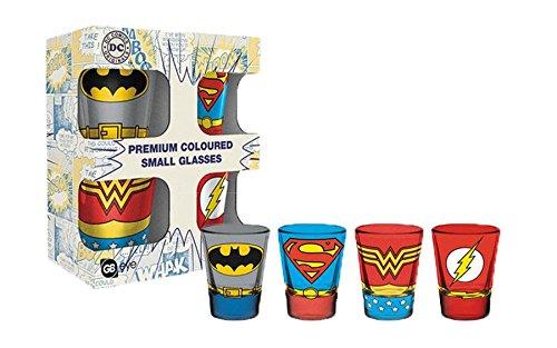 Set di Bicchieri da Shot DC Comics - Costumi