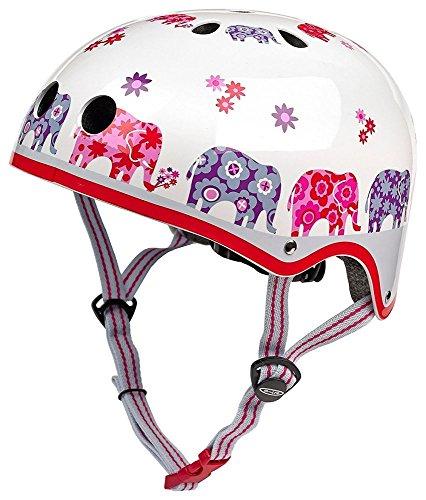 Micro Scooters Kinder-Fahrradhelm mit Elefantenmotiv, Größe M, Rosa