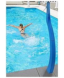 Poolathlete I Poolathlet I Pool Athlet I Pooltrainer I optimales Schwimmen ohne Gegenstromanlage I für jeden Pool geeignet I Schwimmtrainer I Schwimmhilfe I Farbe: Blau