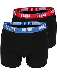 Puma Basic Lot de 4 boxers pour homme