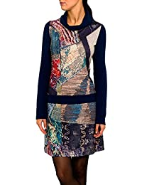 SMASH Andromeda Vestido Con Cuello Alto-A1682323, Robe Femme
