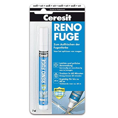 Ceresit Reno Fuge zum Auffrischen der Fugenfarben in weiß