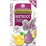 Twinings Superblends Beetroot Tea with Ginger & Orange, 20 Teabags