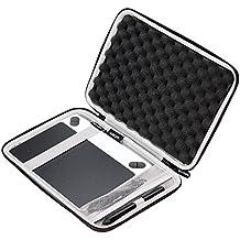 Funda dura LTGEM de goma EVA para tableta gráfica Wacom Intuos, pequeña con bolsillo de malla